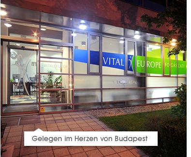 Gelegen im Herzen von Budapest
