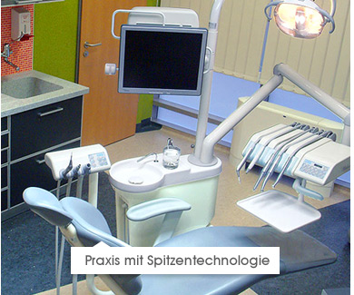 Praxis mit Spitzentechnologie
