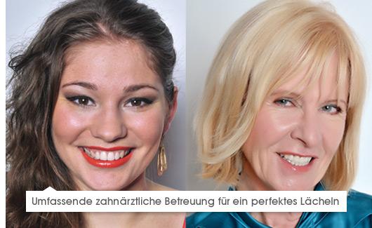 Umfassende zahnärztliche Betreuung für ein perfektes Lächeln