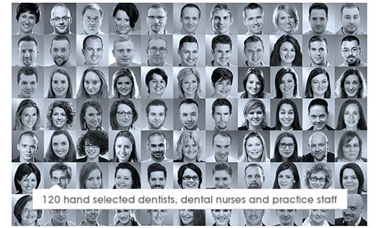Your hygienist and registered Dentist. European languages spoken.
